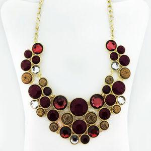 INC International Multi-Color Stone Necklace$39.00